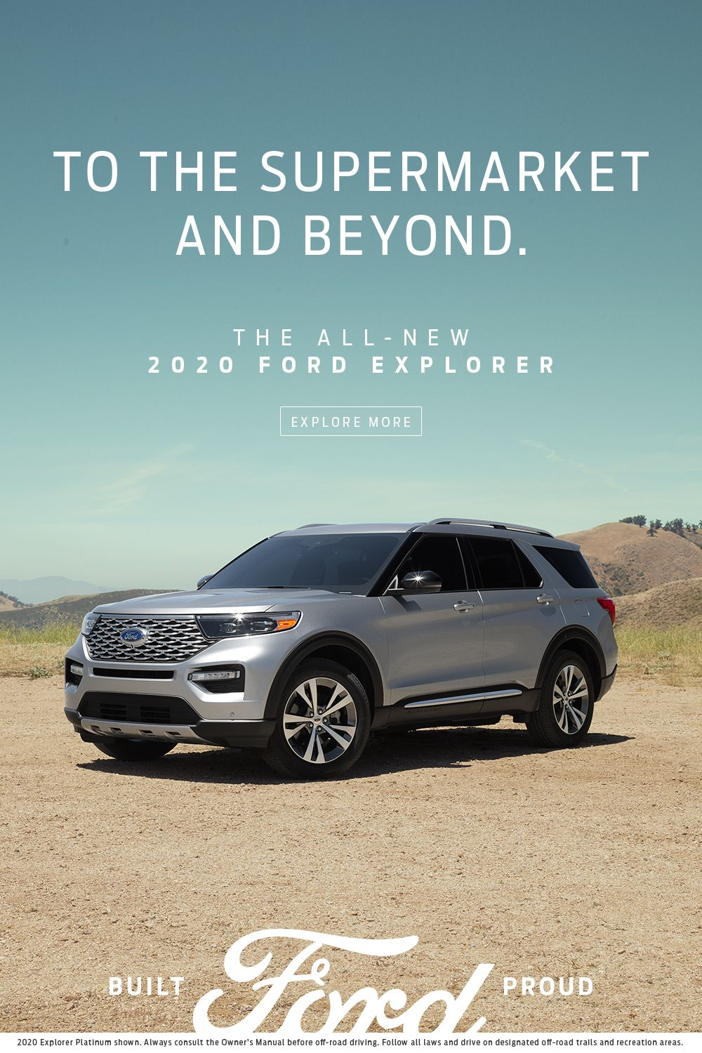 To The Supermarket And Beyond 2020 Ford Explorer Ford Explorer New Explorer