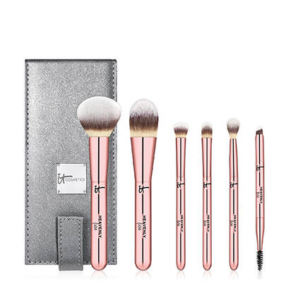 Heavenly Luxe On The Go! 6Piece Brush Set + Case (158