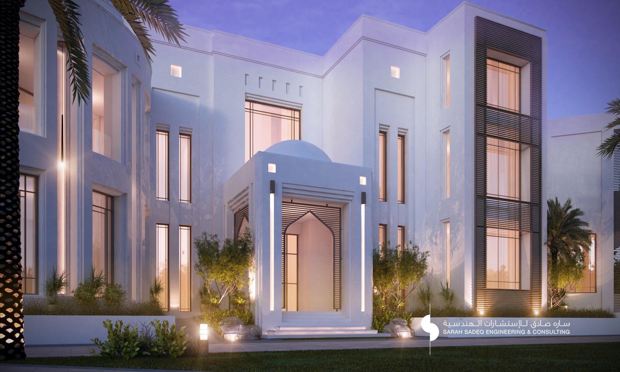 fp villa exterior design dubai beautiful houses