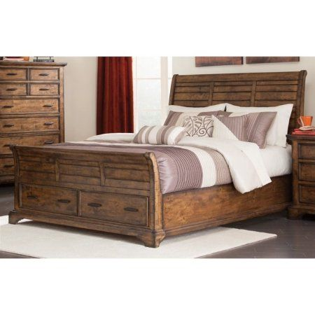 Coaster Elk Grove King Sleigh Bed with Drawers coasterfurniture