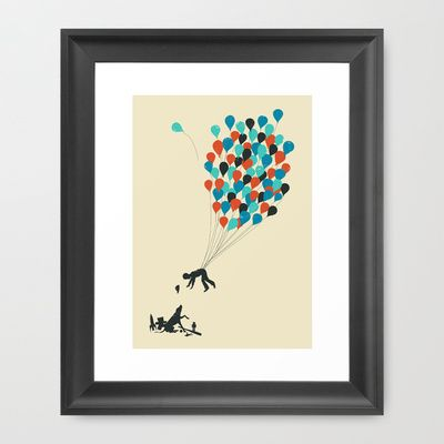 Growing Up Framed Art Print by Jay Fleck - $33.00