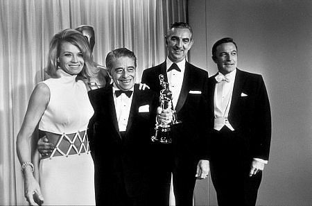 The 40th Annual Academy Awards Angie Dickinson Ken Darby Gene