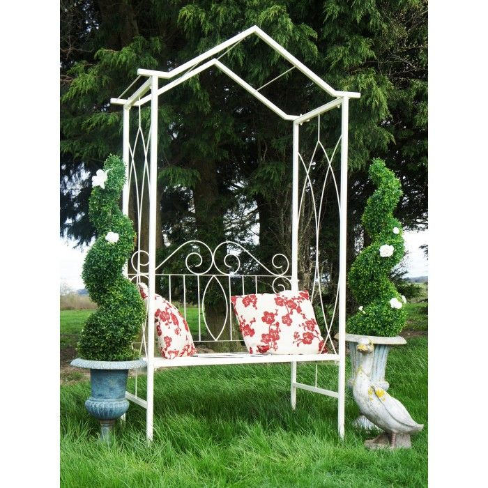 Cool Wrought Iron Arbour Ideas For A Victorian Terraced Garden Squirreltailoven Fun Painted Chair Ideas Images Squirreltailovenorg
