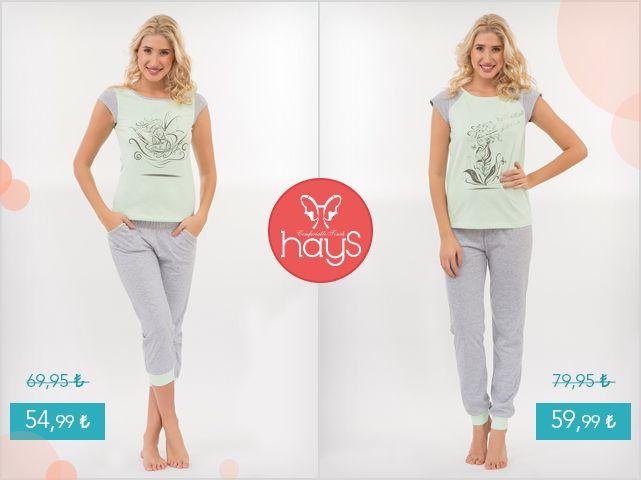 Hays Melanj Inn Penye Pijama Takımlarımız şimdi indirimde! Hemen satın almak için haysshop.com'a uğrayın.