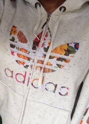 Adidas jacke damen mit blumen