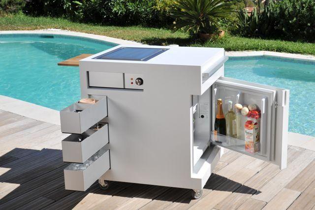 Move Kitchen A Compact Mobile Outdoor Unit Buitenkeuken Tuin Bar Keuken