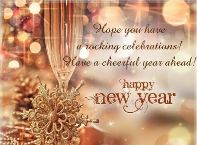 Happy New Year Cards Messages Sample Pictures Images Free Download