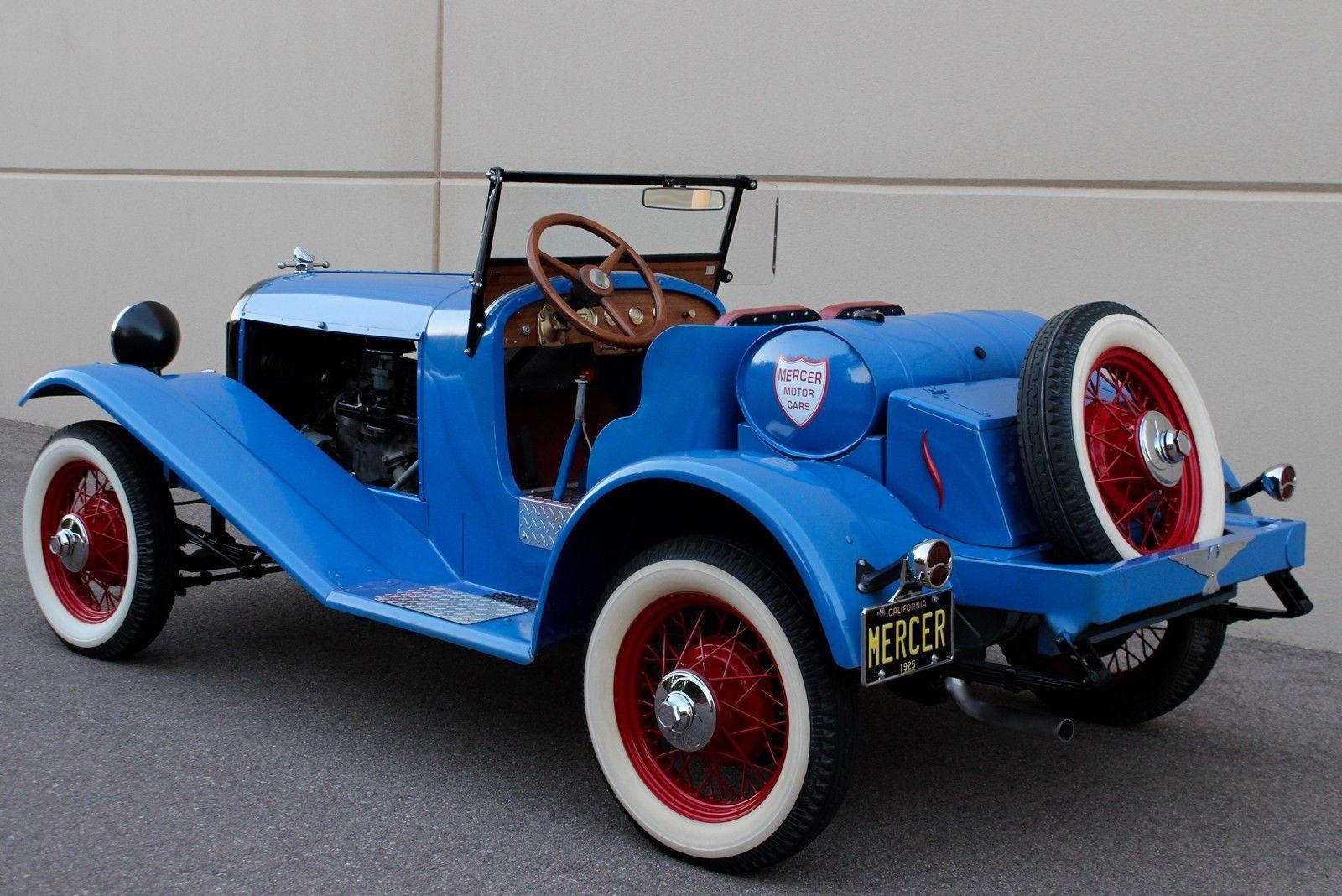 1925 Other Makes Mercer Raceabout Race Car Speedster | Motor car ...