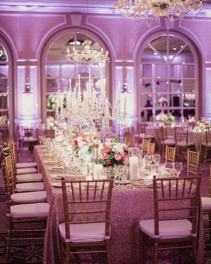 Gorg Subtle Purple #uplighting Glow At This Wedding