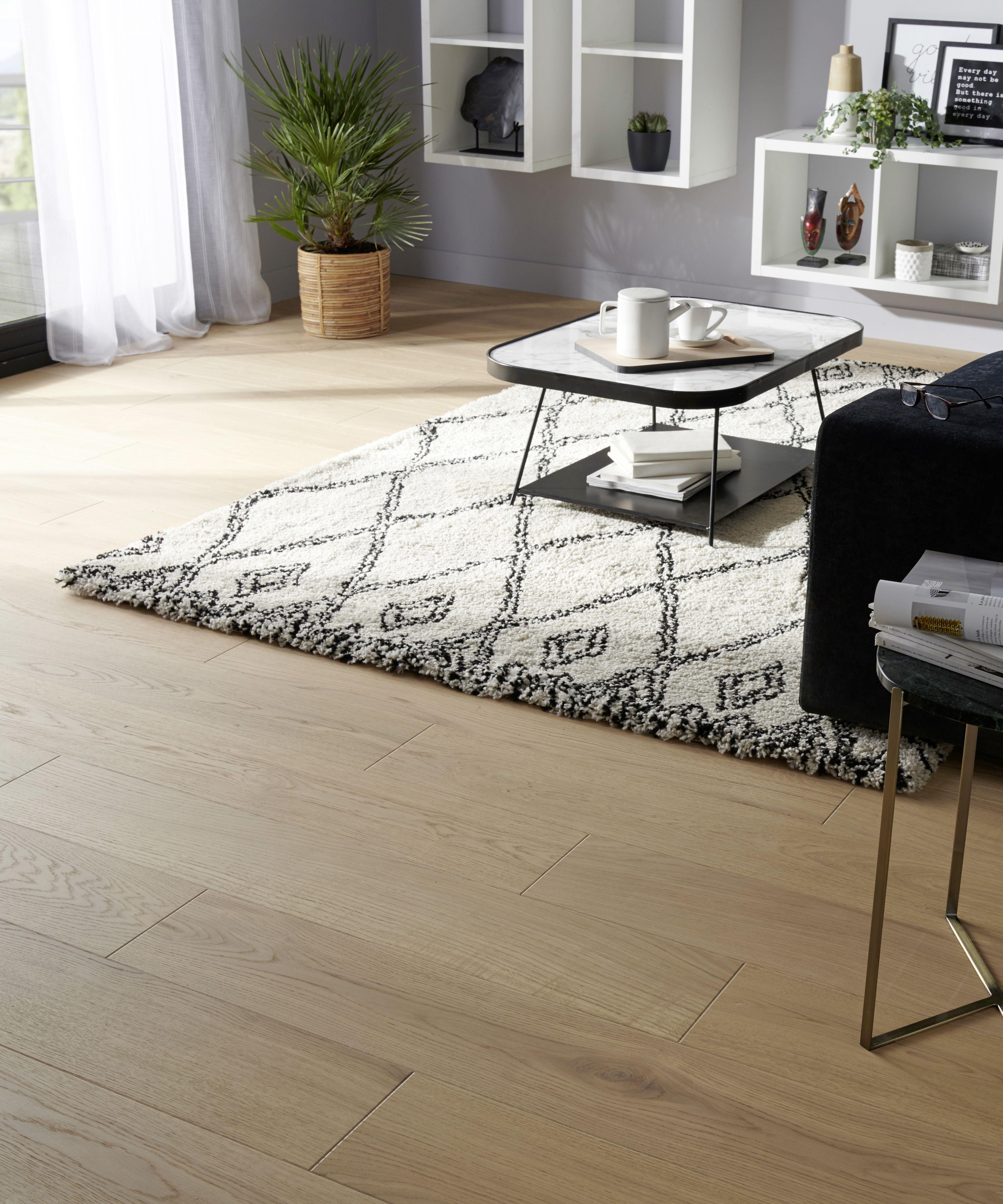 Deska Trojwarstwowa Goodhome Dab Halland 1 37 M2 Deski Trojwarstwowe Simple Living Room Designs Goodhome Living Room Designs
