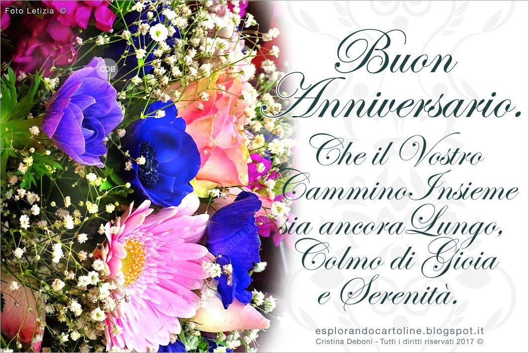 Frasi Anniversario Matrimonio 450.Cartolina Buon Anniversario Che Il Vostro Cammino Insieme Sia