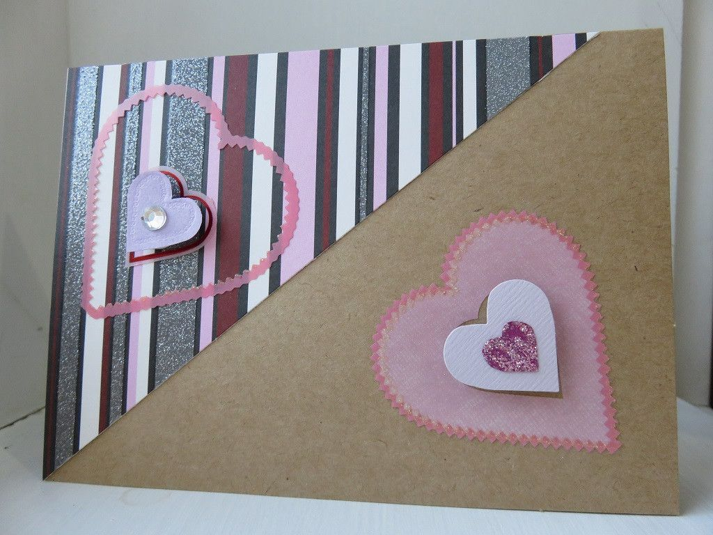 Handmade Love Greeting Card A Bit Of Glue And Paper Kraft 005