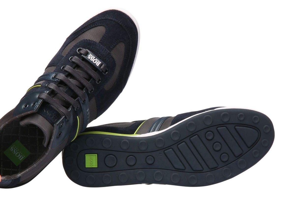 fb98bc7305a Zapatos Hugo Boss Negro   Gris - Akeen