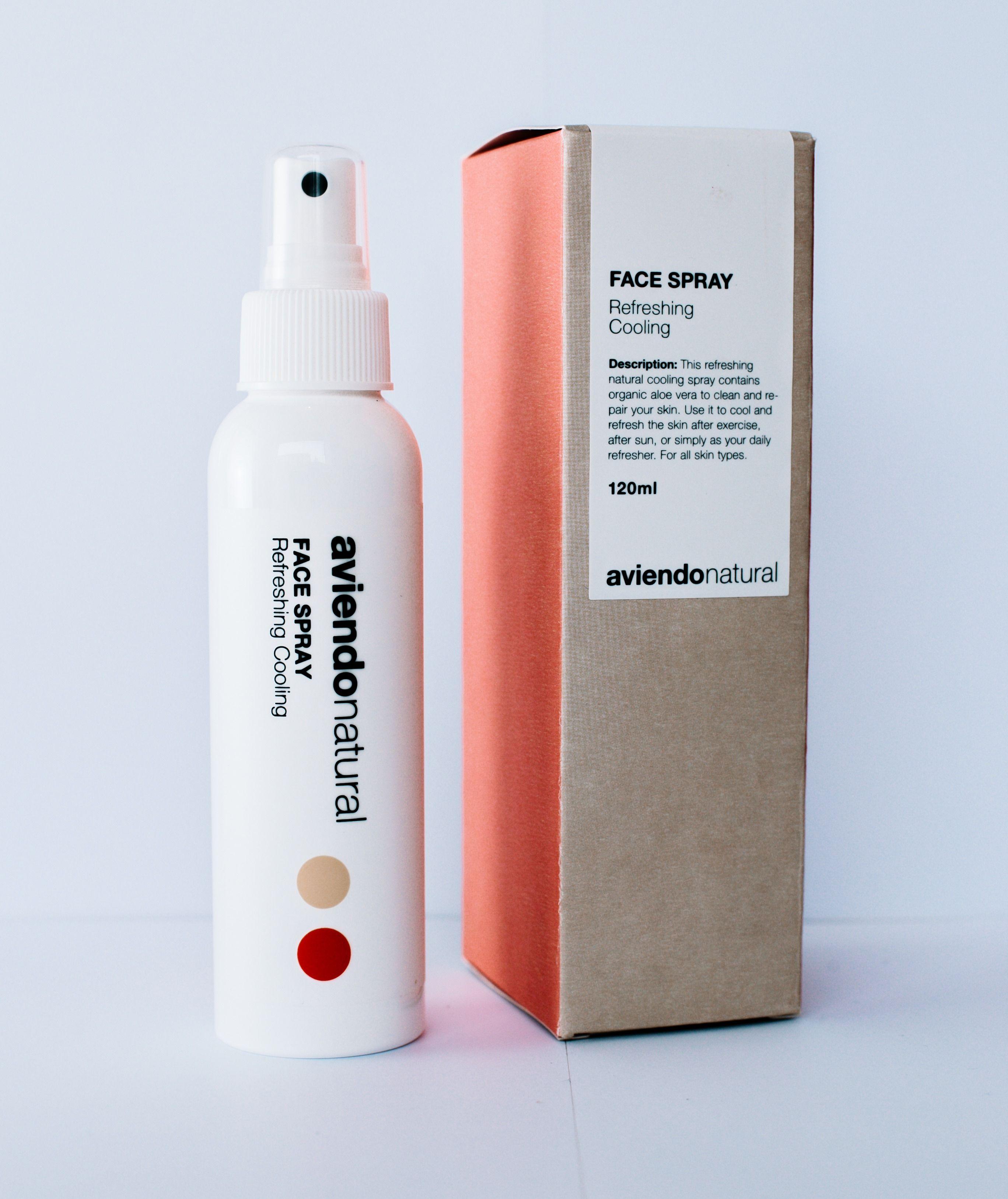 Refreshing Cooling Spray I 2020 Hudtyper Ansigter