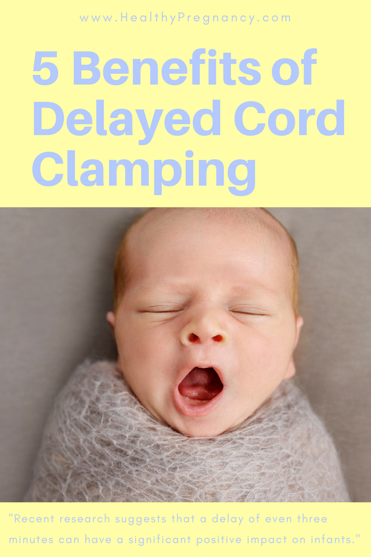Before giving birth look into the benefits of delayed cord clamping