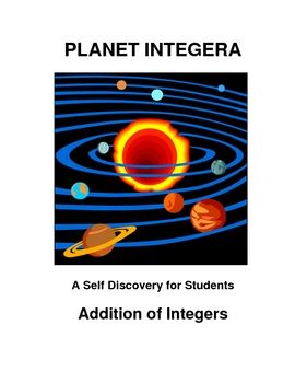 adding integers self discovery students develop a conceptual understanding of adding integers. Black Bedroom Furniture Sets. Home Design Ideas