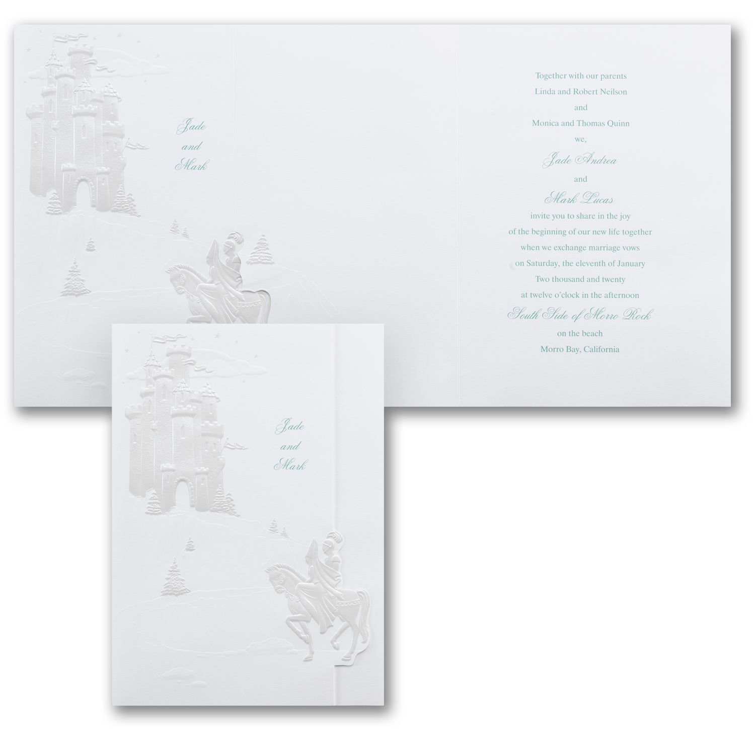 Fairy Tale Scene Invitation Available At Persnickety Invitation