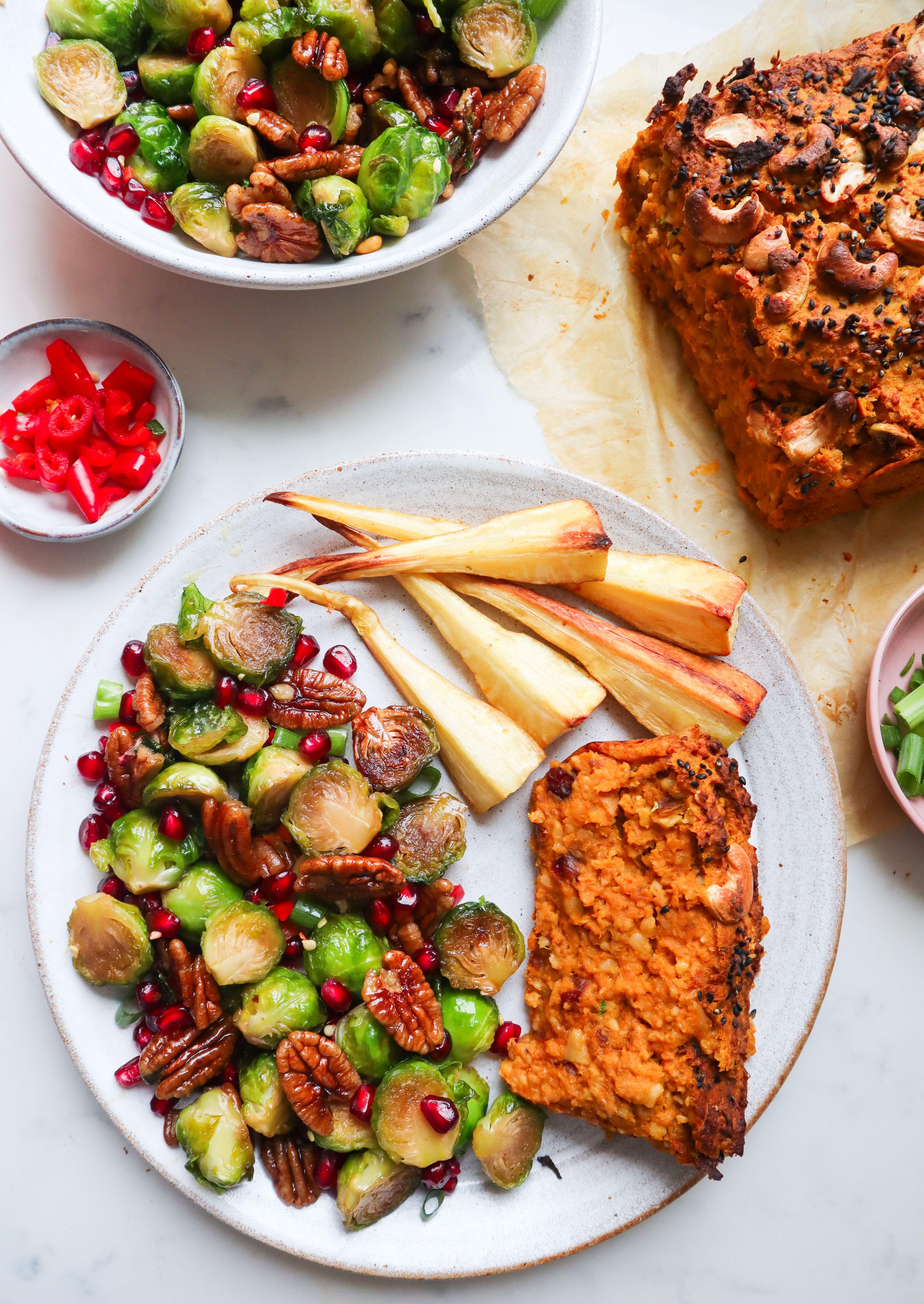 Butternut squash nut roast recipe in 2020 food recipes