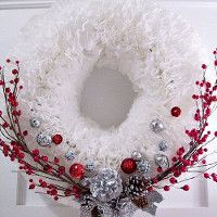 coffee filter wreath dollar store christmas crafts and recipes - Dollar Store Christmas Crafts