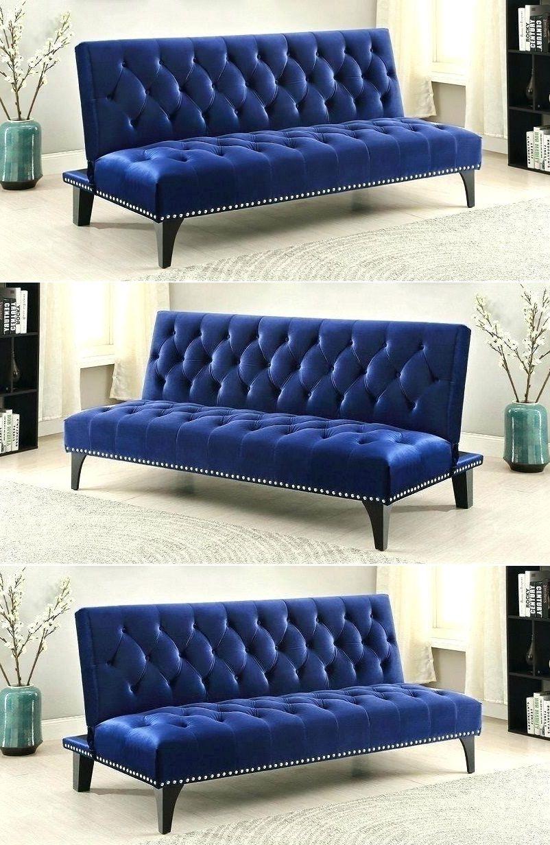 Navy Blue Sleeper Sofa Comfortable Design 2019 2020 Blue