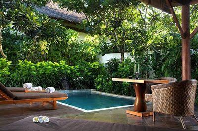 Small courtyard pool garden designs ideas Backyard design ideas