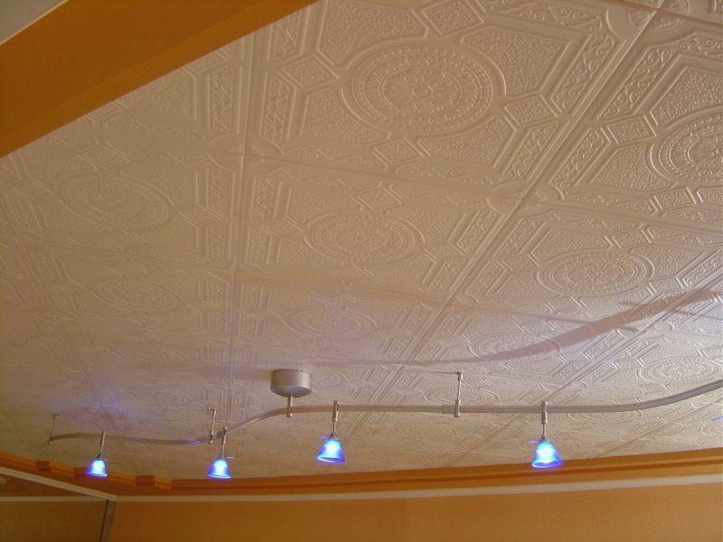 """Styrofoam Decorative Ceiling Tiles Kensington Gardens  Styrofoam Ceiling Tile  20""""x20""""  #r30"""