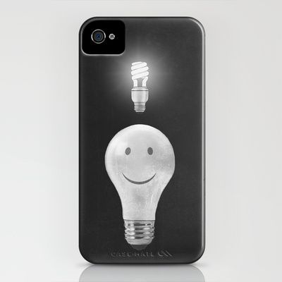 Bright Idea iPhone Case by Terry Fan
