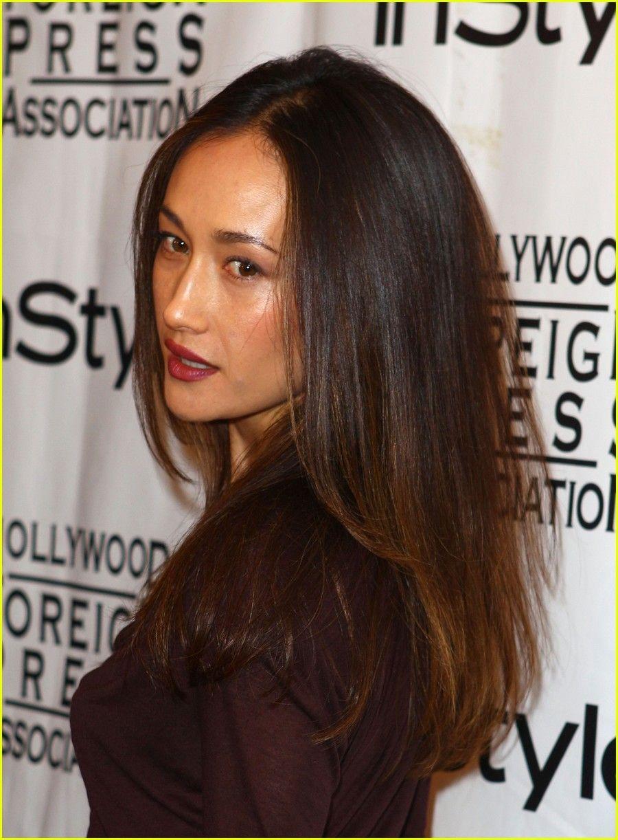 Maggie Q Lyndsy Fonseca Nikita Instyle 03 Maggie Q Q Hair Asian Haircut
