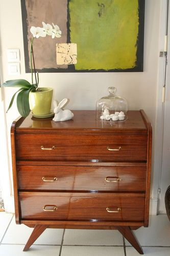 Petite Commode Vintage Furniture Recycle Pinterest