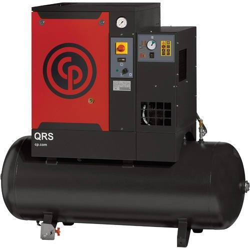 5 HP Screw Chicago Pneumatic Air Compressors ID