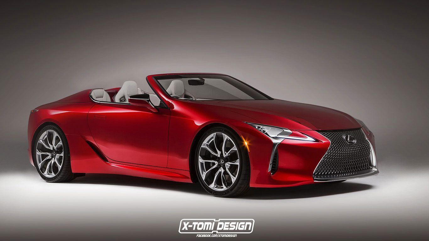 Lexus Convertible 2020 Redesign Lexus Lc Lexus Convertible Lexus Cars