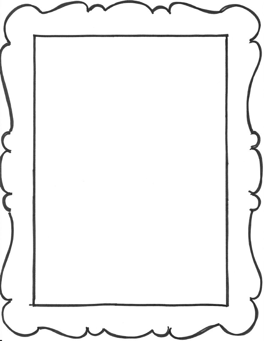 Add a few frame outlines to the art notebook party favors from my see 6 best images of frame templates printables free printable frame templates free printable frame templates prince george frames coloring pages printable jeuxipadfo Images