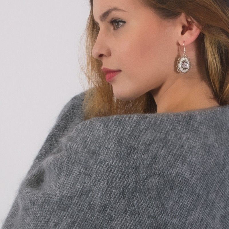 оренбургский пуховый платок состав шерсть