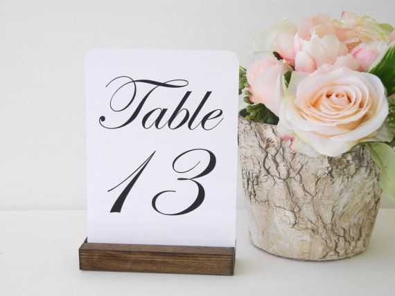 table number holder rustic wedding rustic wood table number holders 5inch set of 12