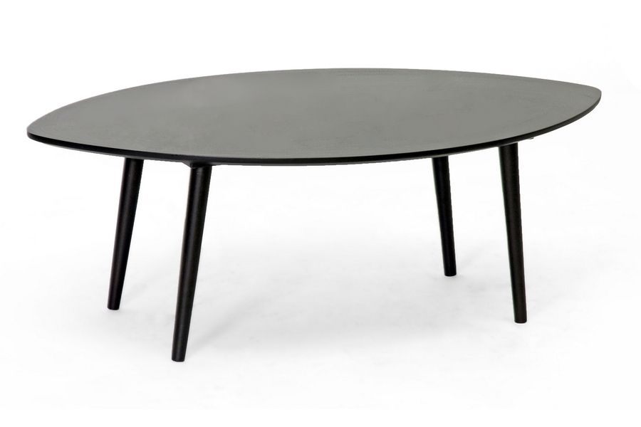 Best Griffith Dark Brown Mid Century Modern Coffee Table 400 x 300