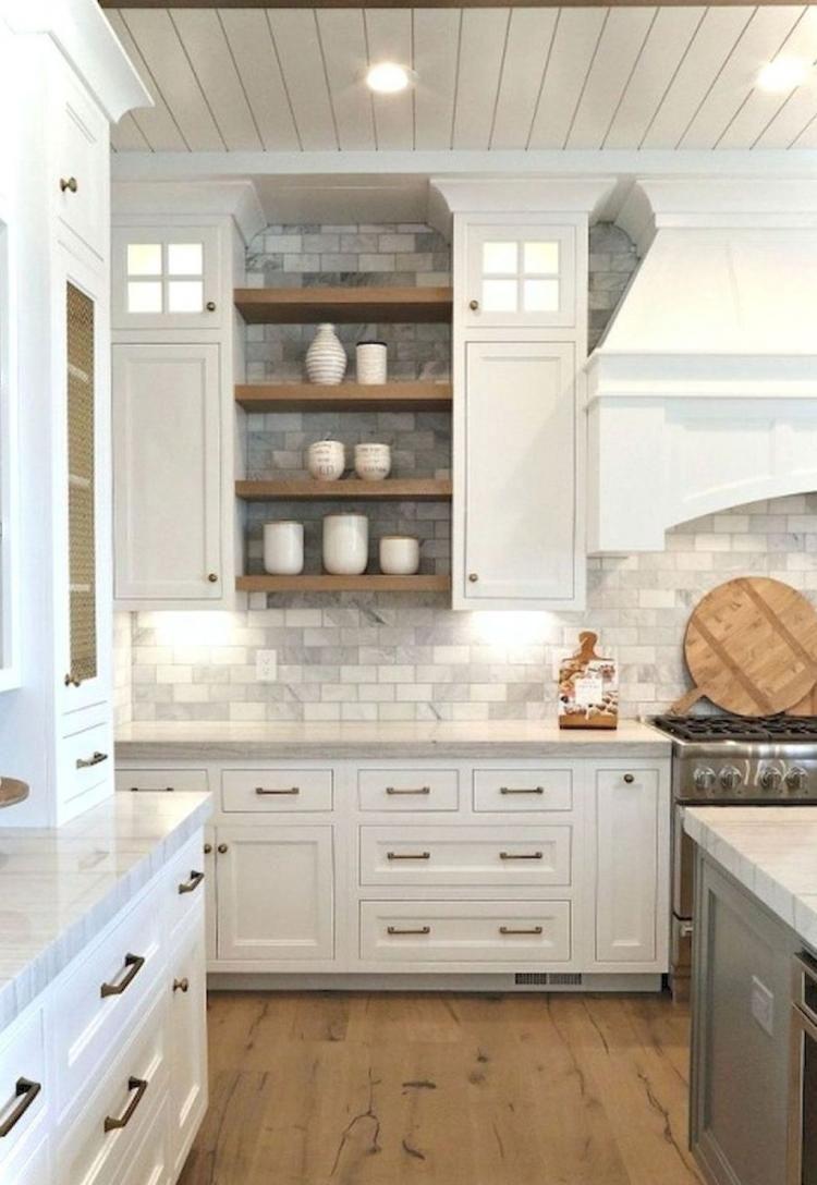 65 Astonishing Rustic Farmhouse Kitchen Cabinets Design Ideas