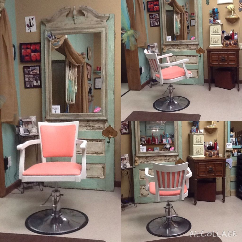 My Glamorous New Salon Chair My Daughter Named Her Aurora
