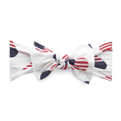Flag Hearts Is In Blingdex The Database Of Every Baby Bling Bow Ever Made In 2020 Baby Bling Baby Bling Bows Knot Headband