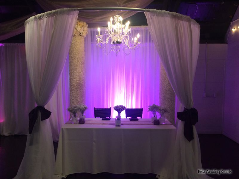 Backgrounds Backdrops Pipe N Drape Wedding Pipe And Drape
