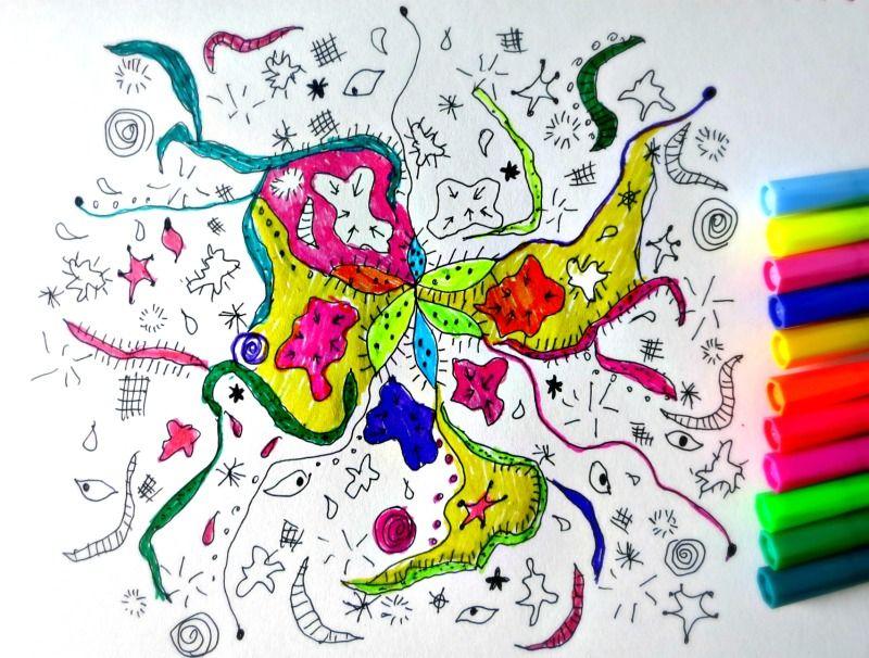 zen doodle coloring