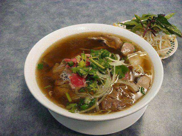 Pho Dac Biet .. gotta love Vietnamese food.  So tasty and fresh. #vietnamese #nomnom