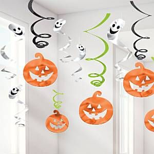 Halloween Family Friendly Swirls - 60cm