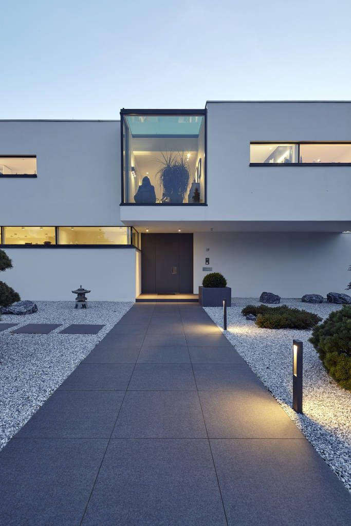 Finde moderne Häuser Designs: Villa S.. Entdecke die schönsten Bilder zur Inspiration für die Gestaltung deines Traumhauses.