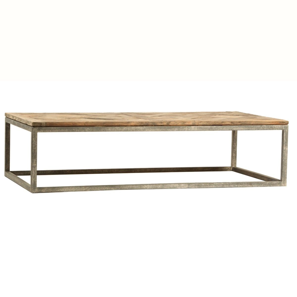 "MATHIS COFFEE TABLE BR BR • 63""L x 16""H x 36""D BR • Reclaimed"