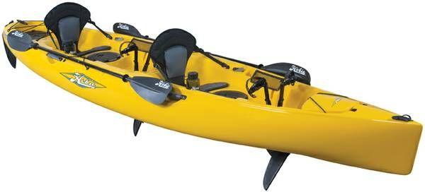 Hobie Oasis Mirage Tandem Kayak Double Pedal Drive Tandem Kayaking Hobie Mirage Kayaking