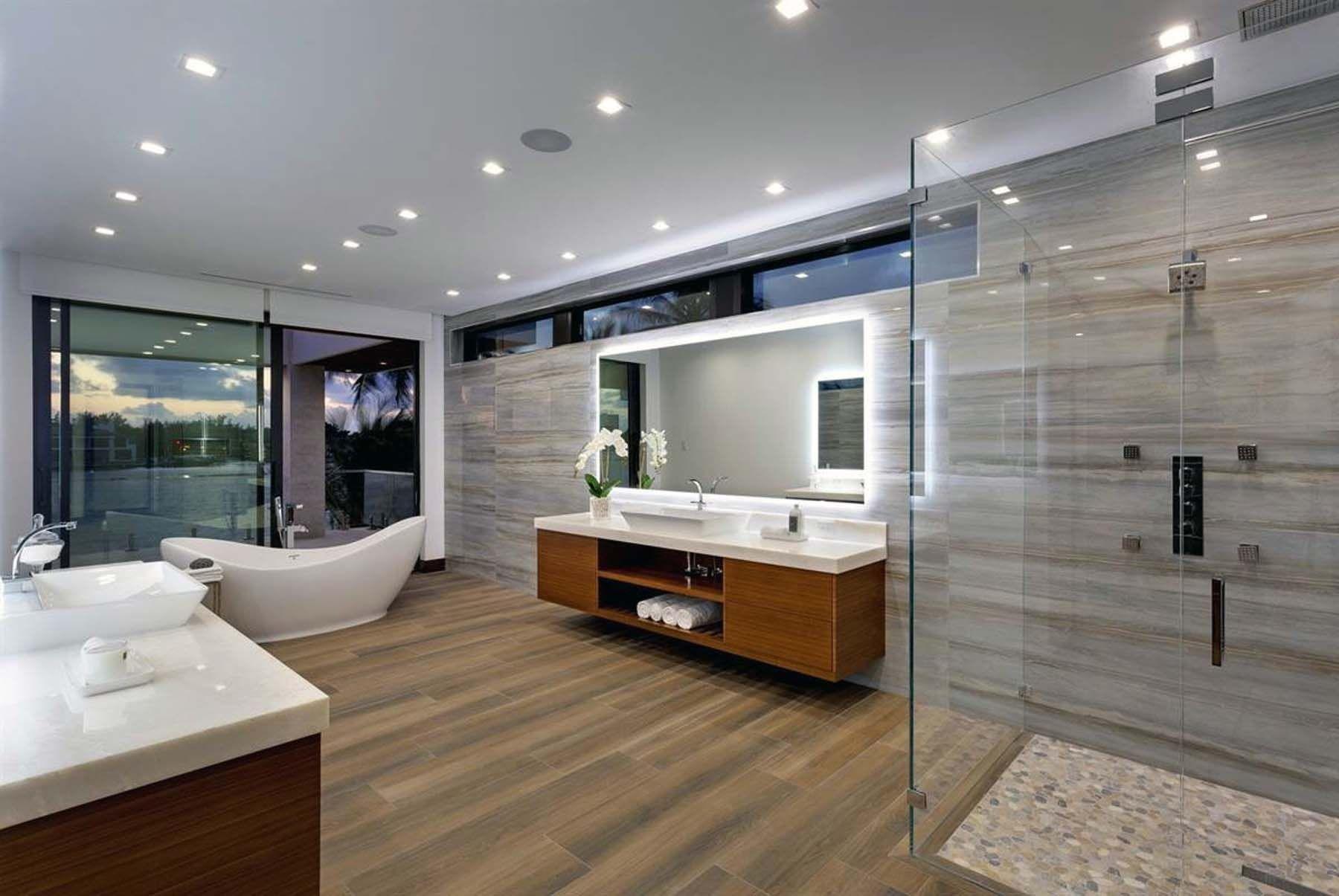 Modern Bathroom Design Ideas 2019 Modern Bathroom Pics Gambrick In 2020 Luxury Bathroom Design Modern Modern Bathroom Design Modern Bathroom