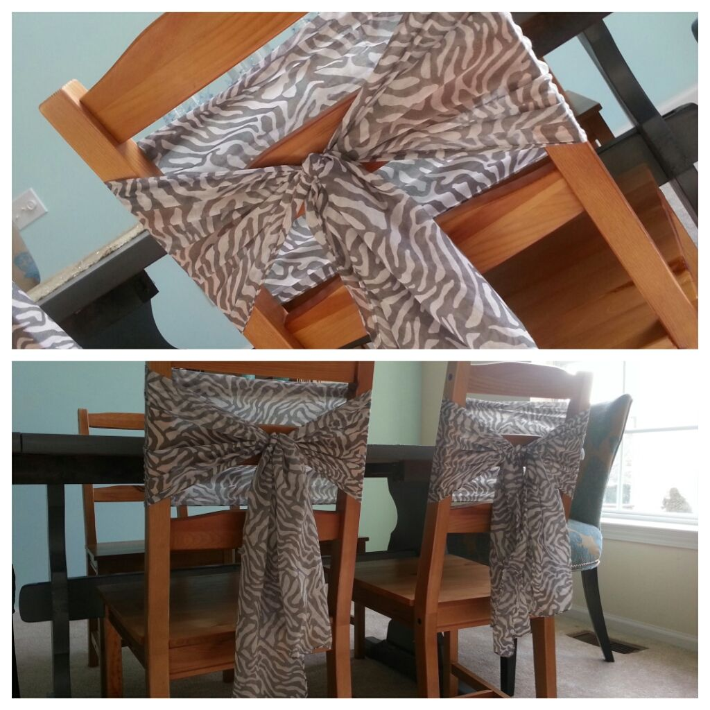Pleasing Dollar Tree Scarfs Used As Chair Sashes Chair Decor Ps I Inzonedesignstudio Interior Chair Design Inzonedesignstudiocom
