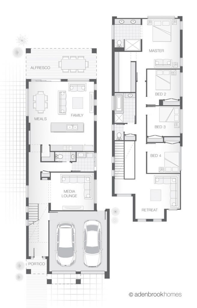 Narrow Lot Home. From 298.8m2, 4 Bedrooms, 2.5 Bathroom, 2 ... on european house plans with, tiny house plans with, craftsman house plans with, charleston style house plans with, country house plans with, small house plans with, modern house plans with, luxury house plans with, mediterranean house plans with, two story house plans with, log house plans with,