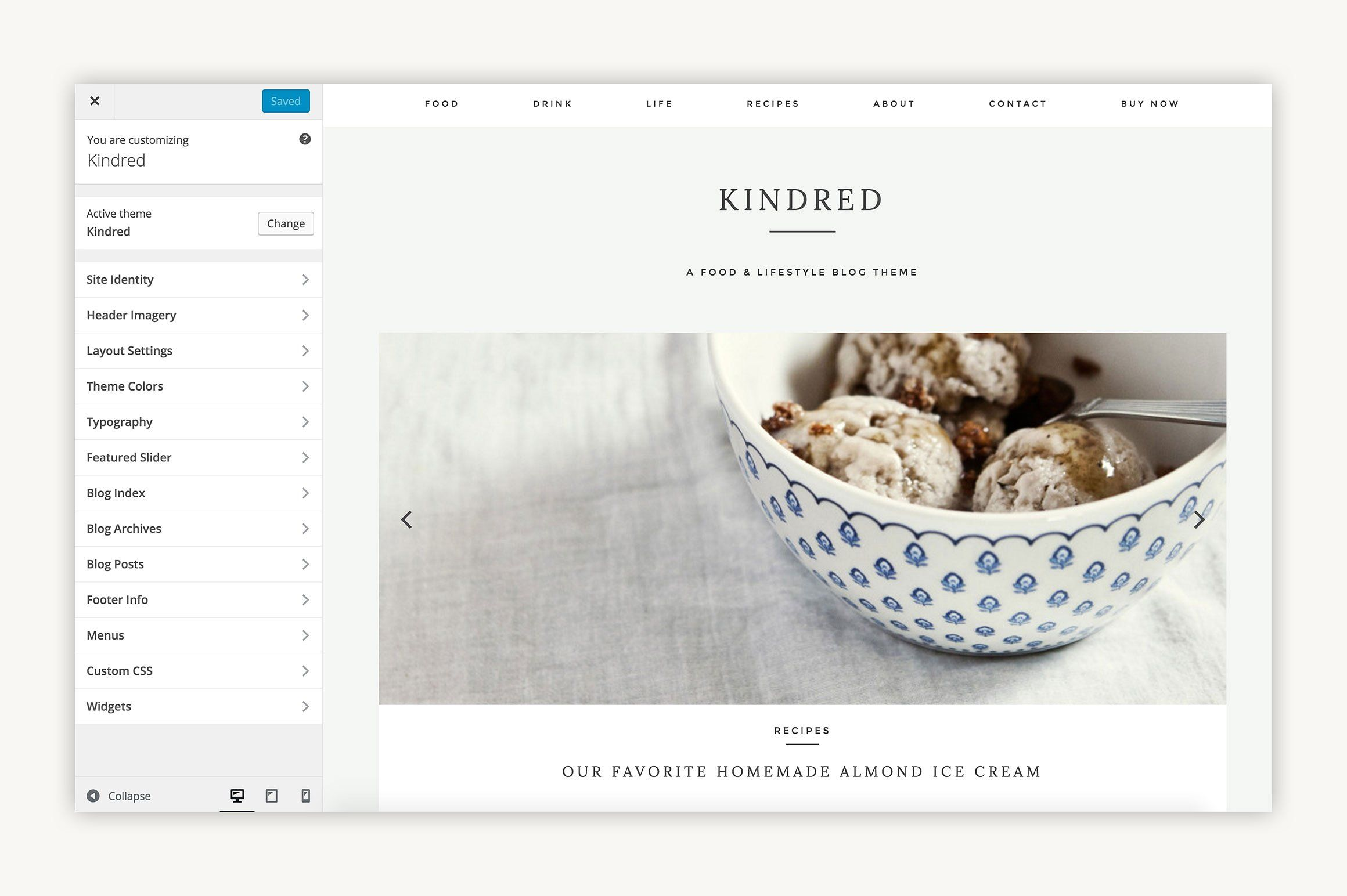 From IAMTHELAB Kindred WordPress Theme Blog