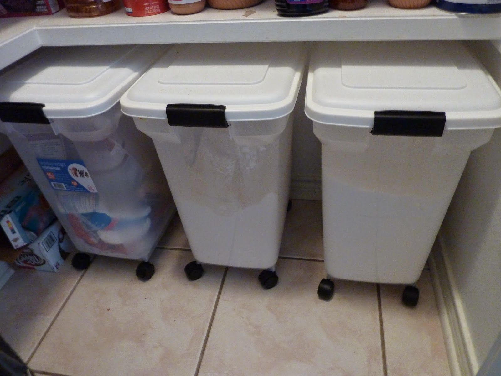 Some Of My Favorite Food Storage Items Flour Storage Flour Storage Container Pantry Storage